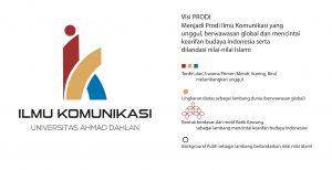 Ilmu Komunikasi Launching Logo Baru