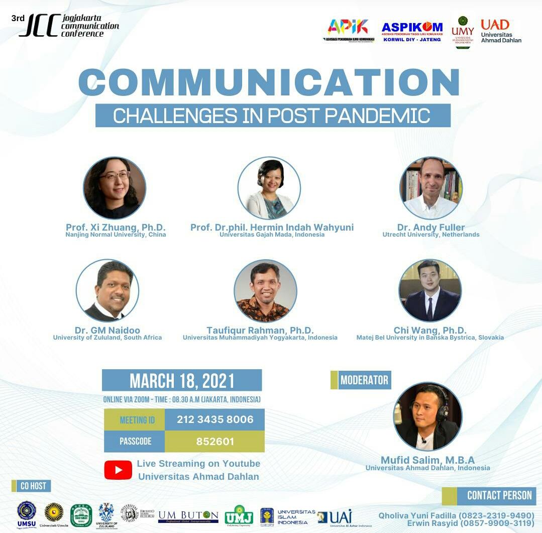 Jogjakarta Communication Conference kembali Digelar